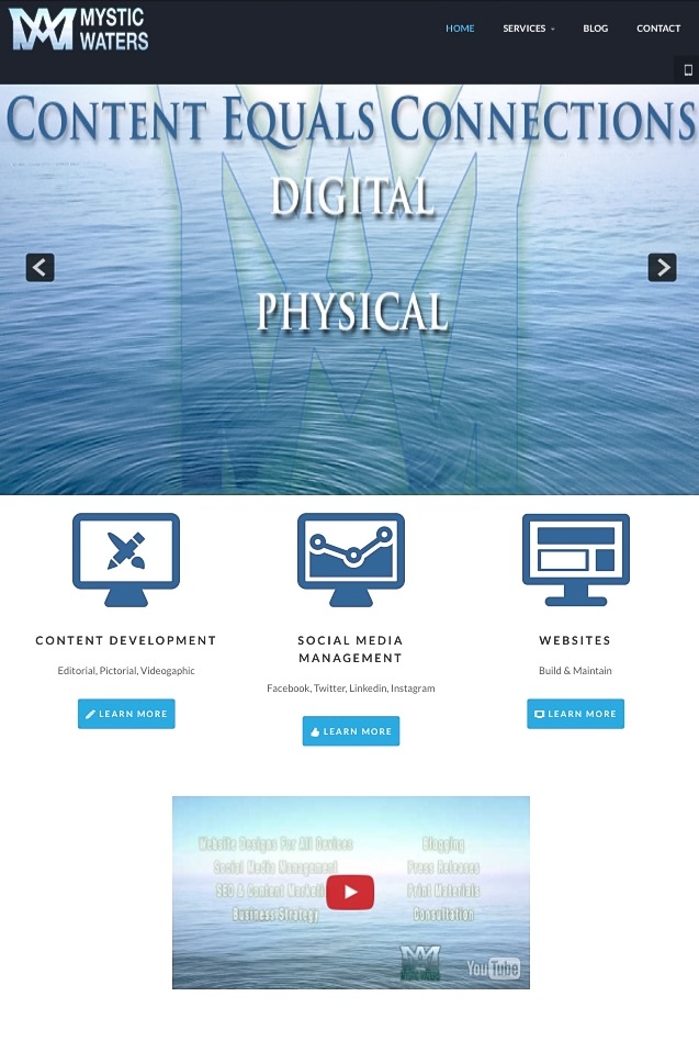 Mystic Waters Media Website 2015